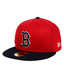 New Era Boston Red Sox MLB Cooperstown 59FIFTY Cap