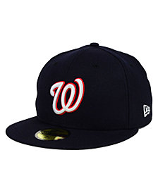 New Era Washington Nationals MLB Cooperstown 59FIFTY Cap