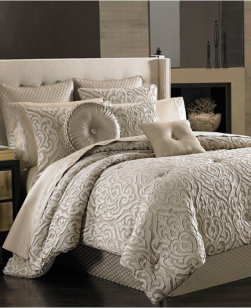 J Queen New York Astoria 4 Pc Bedding Collection Bedding