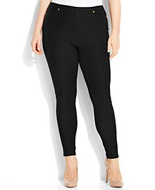 Plus Size Pull-On Skinny Pants