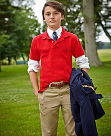 Ralph Lauren Polo, Oxford Shirt & Suffield Pants, Big Boys