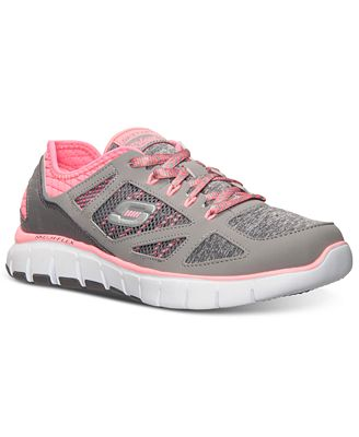 Skechers Women S Relaxed Fit Skech Flex Style Source Running Sneakers From Finish Line