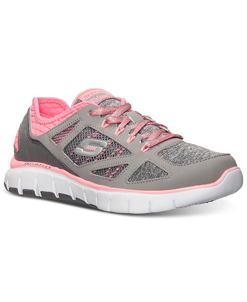 660359b22389 ... Skechers Women s Relaxed Fit  Skech-Flex - Style Source Running Sneakers  from Finish ...