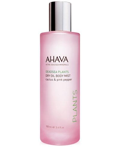 Ahava Dry Oil Body Mist - Cactus & Pink Pepper