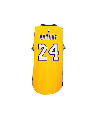 adidas Kids' Kobe Bryant Los Angeles Lakers Swingman Jersey, Big ...