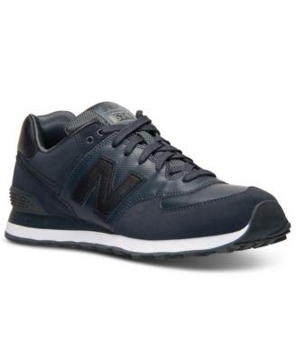 Nouvel Équilibre Des Hommes De 574 Chaussures De Sport Furtifs Occasionnels De La Ligne Darrivée