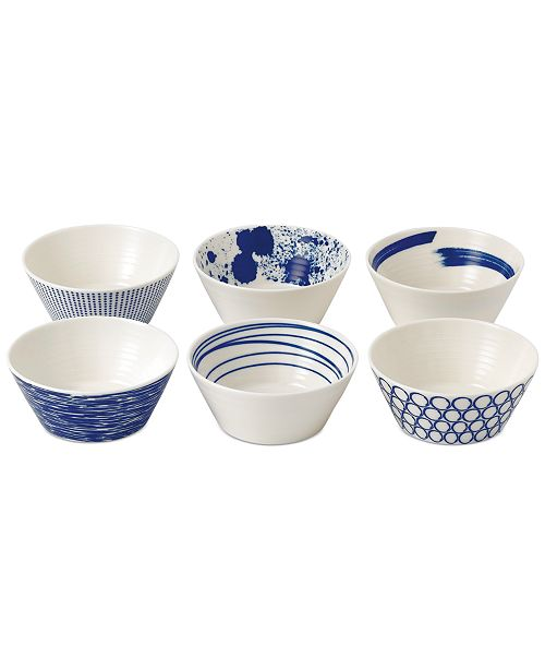 Royal Doulton Pacific Tapas Bowls, Set of 6