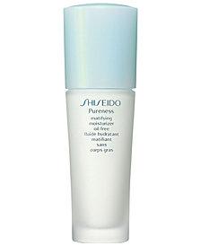 Shiseido Pureness Matifying Moisturizer Oil-Free, 1.6 oz