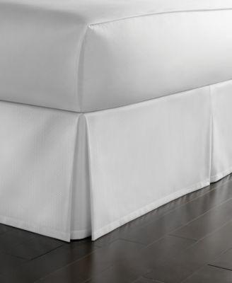 Twin Cotton Pique Bedskirt