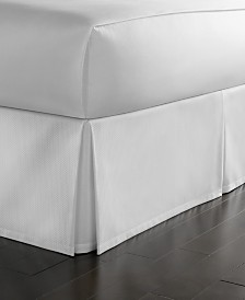 Martha Stewart Collection Cotton Pique Bedskirt and European Sham