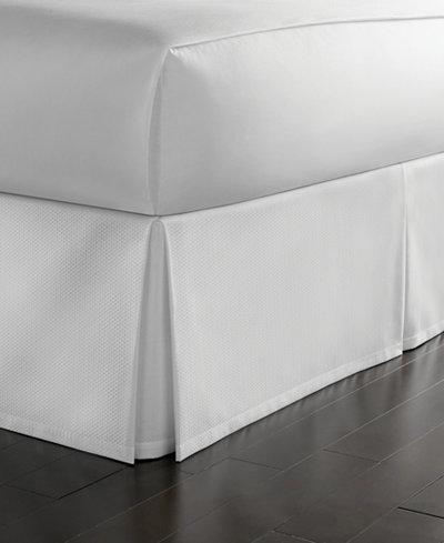 Martha Stewart Collection Cotton Pique Bedskirt And
