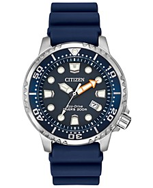 Men's Eco-Drive Promaster Diver Blue Strap Watch 42mm BN0151-09L
