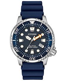 Citizen Men's Eco-Drive Promaster Diver Blue Strap Watch 42mm BN0151-09L
