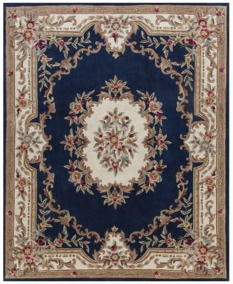 KM Home Dynasty Aubusson Area Rug Created For Macys