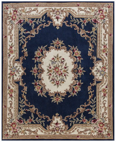 Closeout Km Home Dynasty Aubusson 4 X 6 Area Rug Rugs