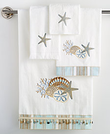 "Avanti By the Sea 13"" x 13"" Wash Towel"