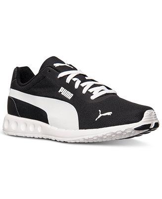 puma men's fallen casual sneakers from finish line