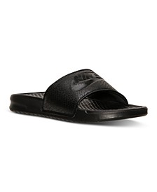 Men's Benassi Just Do It Slide Sandals from Finish Line
