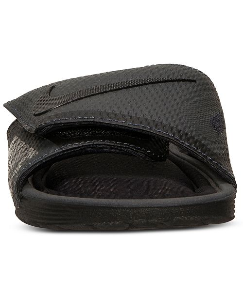 f7cdc917d Nike Men s Solarsoft Comfort Slide Sandals from Finish Line ...