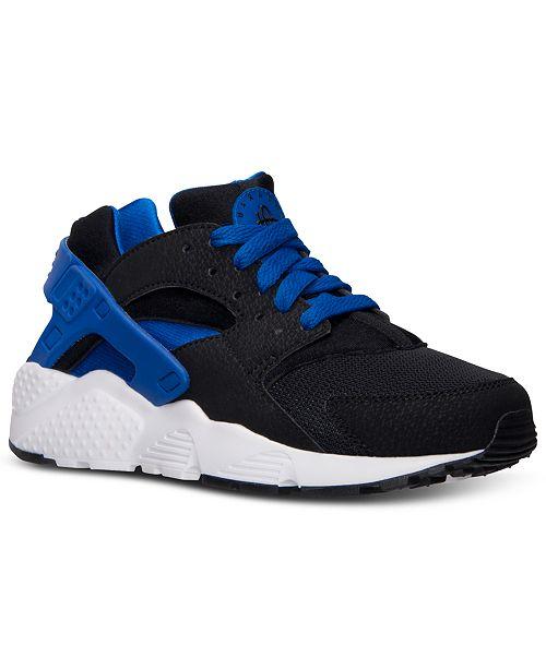 8e9cf18937 Nike Big Boys' Huarache Run Running Sneakers from Finish Line ...