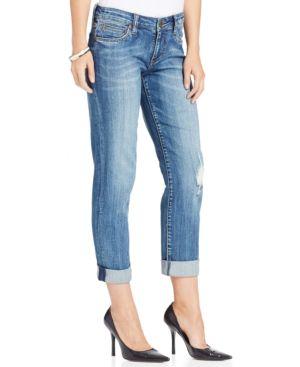 Kut from the Kloth Petite Catherine Boyfriend Jeans 4502684