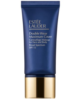 Double Wear Maximum Cover Camouflage Makeup for Face and Body Broad Spectrum SPF 15, 1 oz.