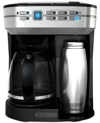 Black Decker Cm6000bdm Caf Select 12 Cup Dual Coffee