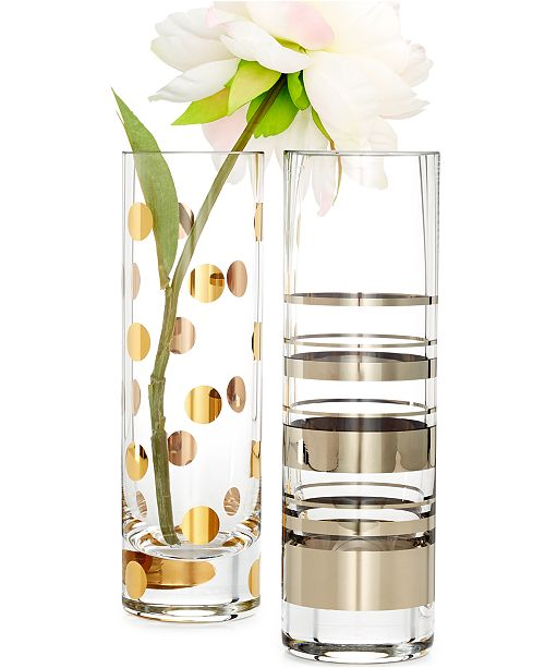 Kate Spade New York Hampton Street And Pearl Place Cylinder Bud