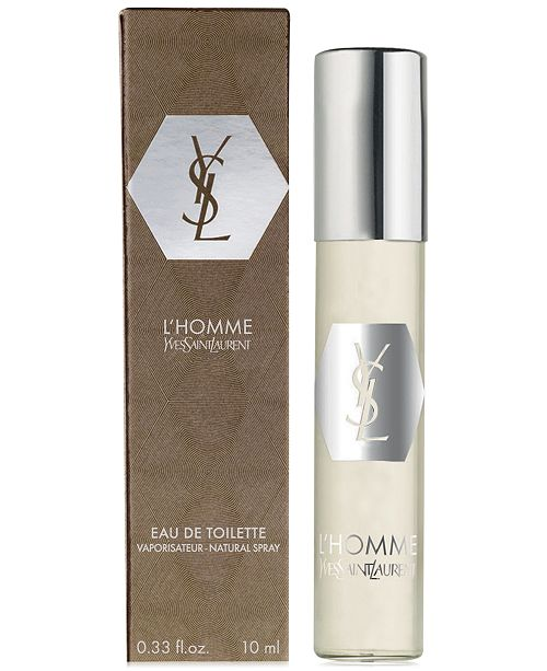 ef2bc47eb053 Receive a Complimentary L Homme Deluxe Mini with any large spray purchase  from the Yves Saint Laurent L Homme men s fragrance collection