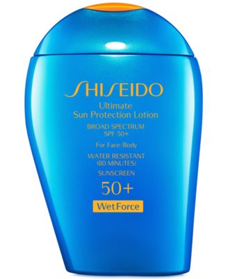Image of Shiseido Ultimate Sun Protection Lotion SPF 50+ WetForce, 3.3 oz