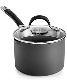 Circulon Momentum 2-Qt. Covered Straining Saucepan