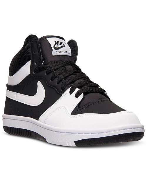 Nike Men's Court Force Hi ND Casual Sneakers from Finish Line