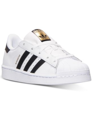 adidas Little Boys\u0027 Superstar Casual Sneakers from Finish Line