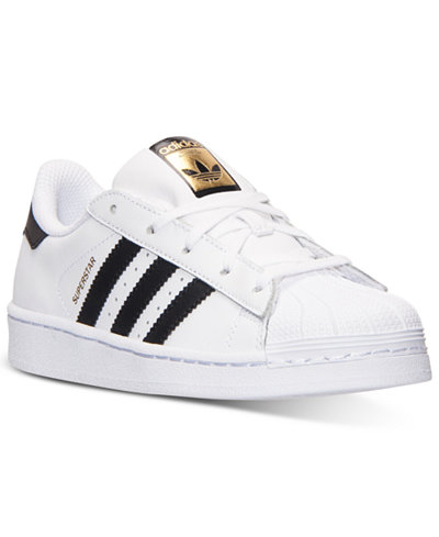 adidas Kids' Superstar Casual Sneakers from Finish Line