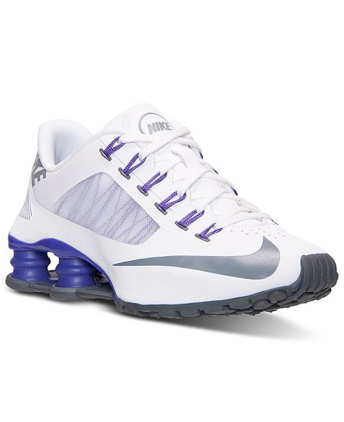new arrival a0f44 36a90 Nike Women s Shox Superfly R4 Running Sneakers from Finish ...