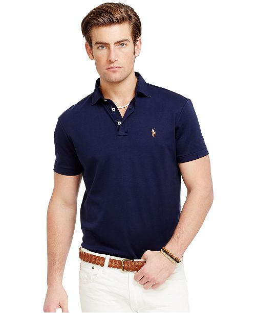 0cc6aa8c Men's Classic Fit Soft Touch Polo