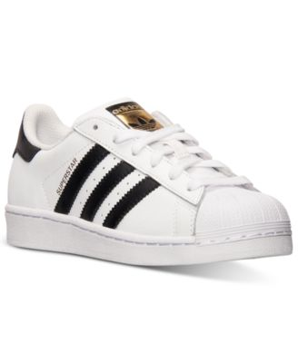 Image of adidas Boys' Superstar Casual Sneakers from Finish Line