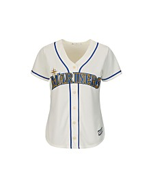 Majestic Women's Seattle Mariners Replica Jersey