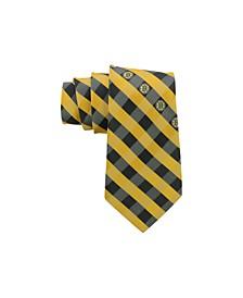 Boston Bruins Checked Tie