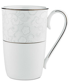 Lenox Dinnerware, Venetian Lace Accent Mug
