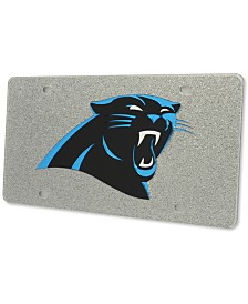 Stockdale Carolina Panthers Glitter License Plate