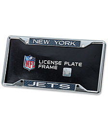 Stockdale New York Jets Carbon License Plate Frame