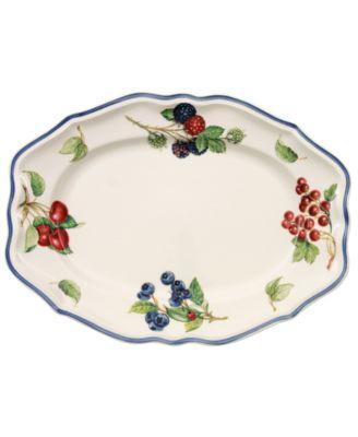 """""""Cottage Inn"""" Oval Platter, 11.75"""""""