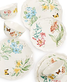 Butterfly Meadow Melamine Dinnerware Collection
