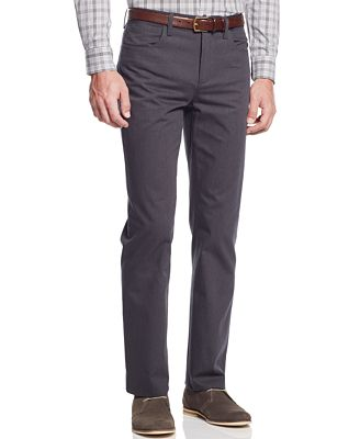 Alfani Slim-Fit Kettle Pinstripe Pants, Only at Macy's - Pants ...