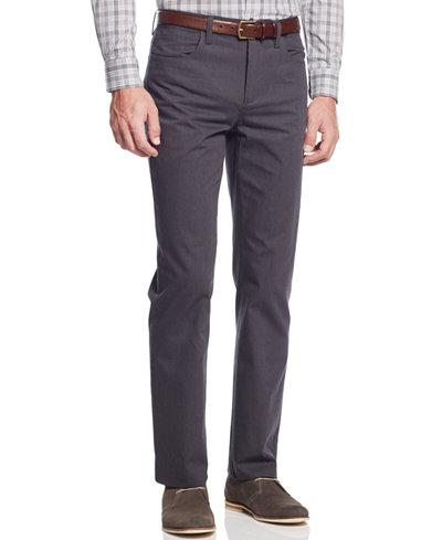 Alfani Slim-Fit Kettle Pinstripe Pants, Created for Macy's