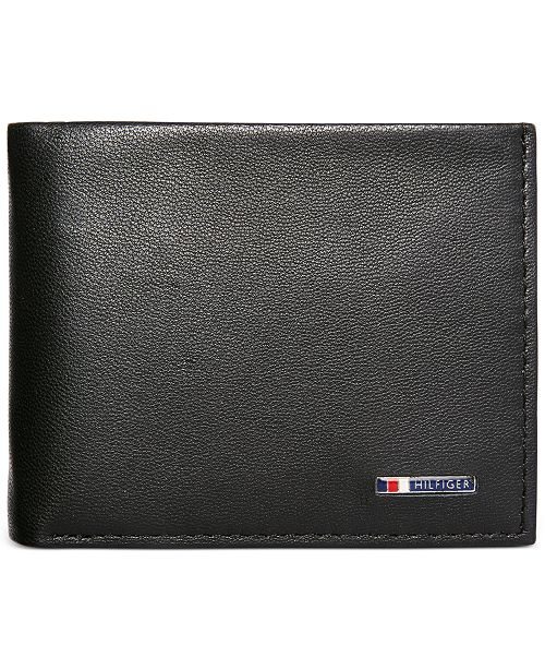 24687ba00900 Tommy Hilfiger Lloyd Passcase Men's Leather Wallet & Reviews - All ...