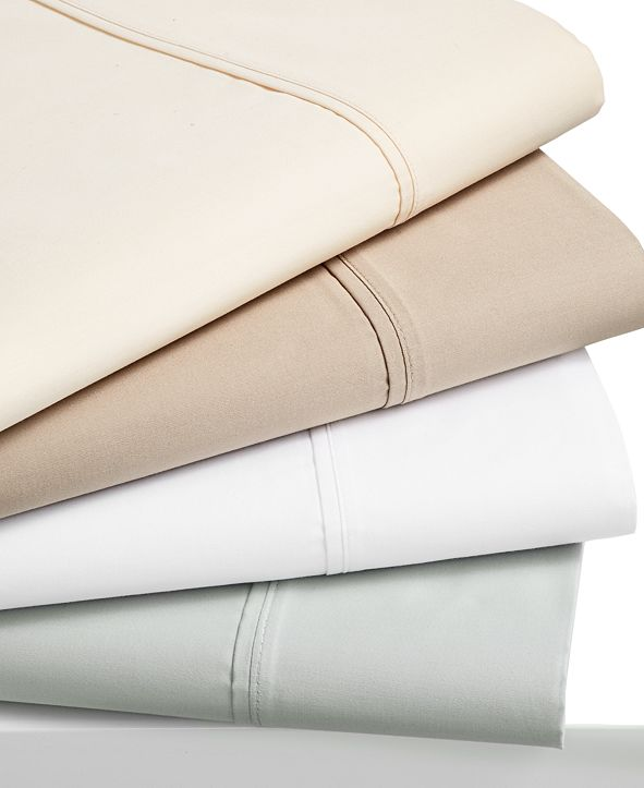Brookstone CLOSEOUT! King 4-pc Sheet Set, 500 Thread Count AAFA Certified Cotton Sateen, Created for Macy's