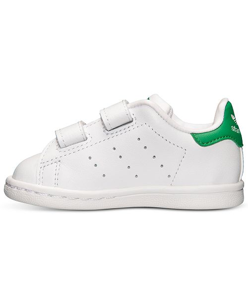 buy online e5385 1424d adidas Toddler Boys' Stan Smith Casual Sneakers from Finish ...