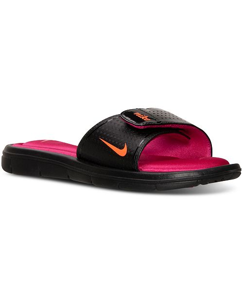 d34c7662b Nike Women s Comfort Slide Sandals from Finish Line   Reviews ...